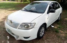 Toyota Corolla 2007 1.4 VVT-i White For Sale