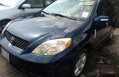 2004 Toyota Matrix Dark Blue Automatic Petrol well maintained For Sale