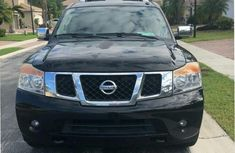 Nissan Armada SL 2011 Blackfor sale