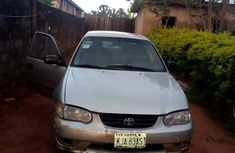 Toyota Corolla 2001 Gray for sale