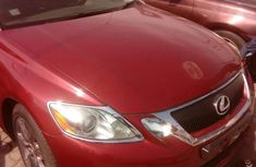 Lexus GS 2008 300 Automatic Red for sale