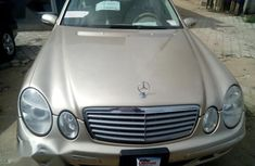 Mercedes-Benz E320 2004 Gold for sale