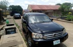 Toyota Highlander 2003 Black for sale