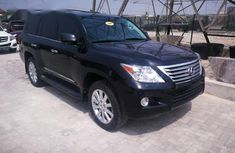 Lexus LX 570 2009 Black for sale