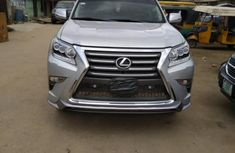 First body Lexus GX 2015 Silver for sale
