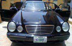 Mercedes-Benz E300 2000 Black for sale