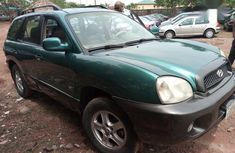 Hyundai Santa Fe 2004 Green for sale