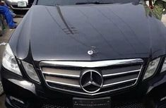 Mercedes-Benz E350 2012 Black for sale