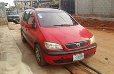 Opel Zafira 1999 1.8 Red for sale