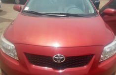 Toyota Corolla 2010 Red for sale