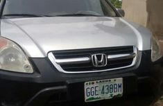 Honda CR-V EX 4WD Automatic 2004 Silver for sale