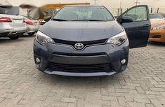 Toyota Corolla 2016 Gray for sale