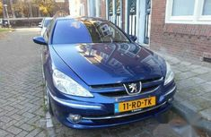 Peugeot 607 2005 2.2 Blue for sale