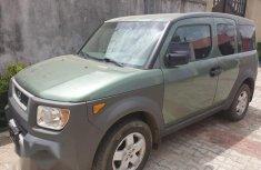 Honda Element 2003 Green for sale