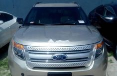 Ford Explorer 2014 Automatic Petrol Gold for sale