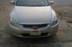 Honda Accord 2004 Silver for sale