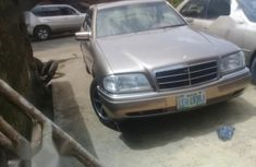 Mercedes-Benz C220 2000 Brown for sale