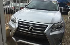 Lexus GX 2016 Silver for sale