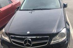 Mercedes-Benz C200 2012 Black for sale