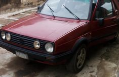 Volkswagen Golf 1996 GL Red for sale