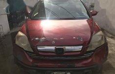 Honda CR-V 2009 Red color for sale