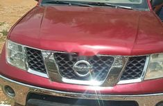 Nissan Frontier 2007 Petrol Automatic Red for sale