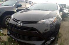 Toyota Corolla 2017 Black for sale