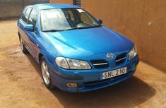 Nissan Almera 2002 Blue color for sale