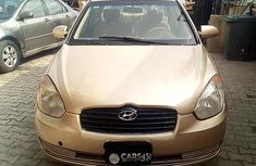Hyundai Accent 2008 Petrol Automatic Gold for sale