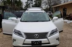 Lexus RX 350 F SPORT AWD 2013 White for sale