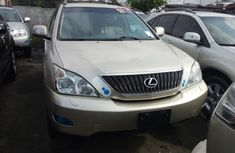 Foreign Used Lexus RX 330 2005 Model Gold for Sale