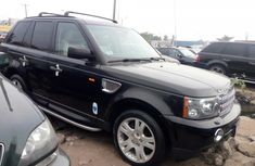 Foreign Used Land Rover Sport 2007 Model Black