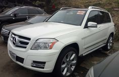 Foreign Used Mercedes Benz GLK350 4MATIC 2010 Model White