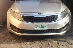 Clean and affordable Kia Optima 2012 Silver for sale