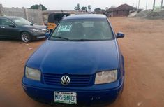 Volkswagen Bora 2001 Automatic Blue for sale