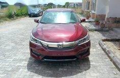 Honda Accord 2017 Burgundy for sale