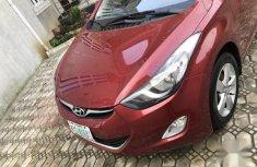 Hyundai Elantra 2013 Red for sale