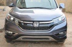 Honda CR-V 2016 Gray color for sale