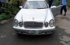Mercedes-Benz CLK 2004 Silver for sale