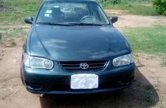 Toyota Corolla 2001 Green for sale