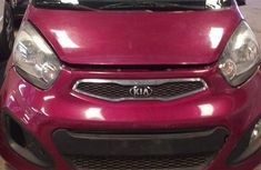 Super clean Kia Picanto 2014 Pink color for sale