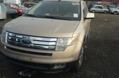Ford Edge 2007 Brown for sale