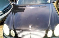 Mercedes-Benz E320 2004 Black for sale
