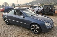 Toks Mercedes-Benz CLK 2003 Cabriolet Gray for sale