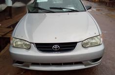 Toyota Corolla 2001 Silver color for sale