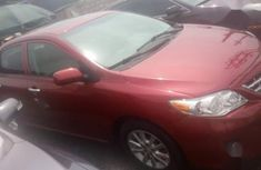 Toyota Corolla 2013 Red color for sale