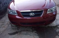 Hyundai Sonata 2.4 2008 Red for sale