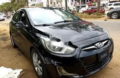 Hyundai Accent 2012 Petrol Automatic Black for sale