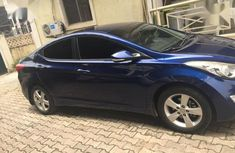 Hyundai Elantra 2012 Limited Blue color for sale