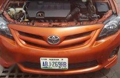 Toyota Corolla 2011 Orange for sale